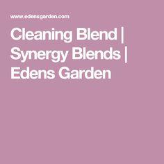 Cleaning Blend   Synergy Blends   Edens Garden