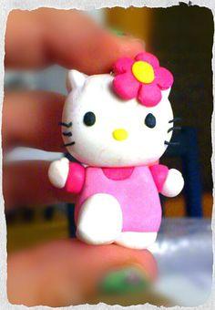 Dulce Kitty! De arcilla polimérica, hecho a mano