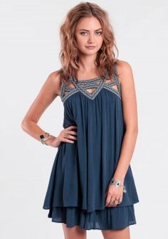 Rhythm And Blues Embroidered Dress