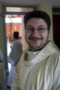 Don Marco Rudolph, pastor at St. Cyril of Alexandria, a suburb east of Rome, where Pope Francis begins the Advent Sunday, December 1st. Pho ...
