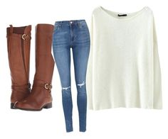 """""""Untitled #506"""" by heden-fun ❤ liked on Polyvore featuring Naturalizer and Topshop"""