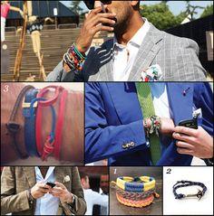 man jewellery, men's jewellery trends 2012