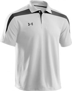 Like This Golf Shirt - Under Armour Clutch II Men's Polo (under-armour-clutch-ii-mens-polo/) Polo Shirt Style, Polo Shirt Design, Mens Polo T Shirts, Golf Shirts, Under Armour Sport, Under Armour Men, Mens Golf Fashion, Casual Wear For Men, Mens Activewear