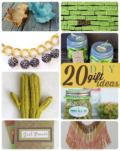 Great DIY gift ideas