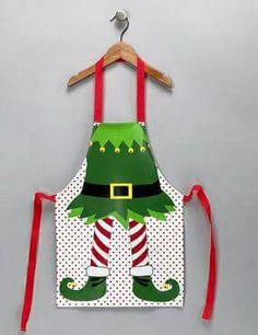 23 trendy Ideas for funny christmas diy kids Christmas Aprons, Christmas Sewing, Christmas Elf, Christmas Humor, Christmas Projects, Christmas Ideas, Sewing Crafts, Sewing Projects, Little Girl Tutu