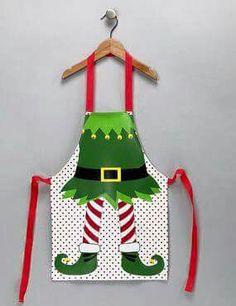 23 trendy Ideas for funny christmas diy kids Christmas Aprons, Christmas Sewing, Christmas Elf, Christmas Humor, Christmas Projects, Christmas Ideas, Little Girl Tutu, Childrens Aprons, Cute Aprons