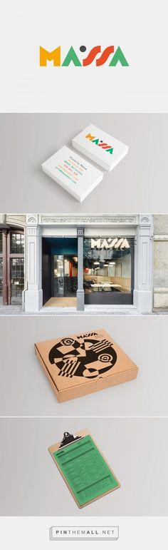 Pizzeria Massa on Behance - created on 2017-01-16 13:14:49