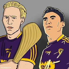 Congrats to Wexford duo and on their All Stars. - - - - Illustration I did from earlier this year (combined hence lighting) Sports Art, Digital Illustration, All Star, Ireland, Digital Art, Doodles, Sketch, Graphic Design, Stars