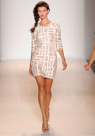 neutral mod mini dress (lela rose from payless shoes website)
