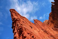 Fisher Towers is a great area located on Highway 128 about a half hour northeast of Moab, Utah. Managed by the Bureau of Land Management, it is a very popular climbing area and a great dayhike as well. Photo by Matt McGrath.