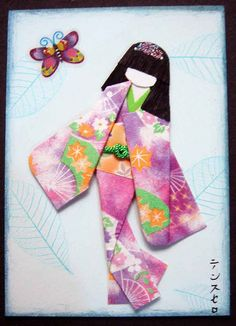 Japanese paper doll