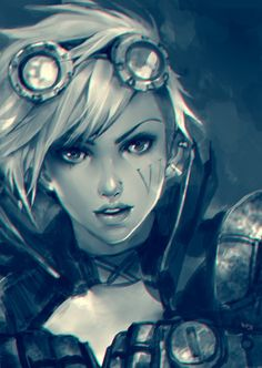 "Vi - League of Legends ""Vi.... stands for vicious."""