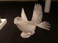 Stunning 3D printed bird - Business Design Centre 2013