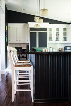 Taupe Paint Black Stool And Paint Walls On Pinterest