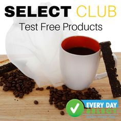 Yes, you heard right! We will send you our new products for free when we launch them. You just let us know what you think. Sign up today for the Select Club, before the spaces fill up!