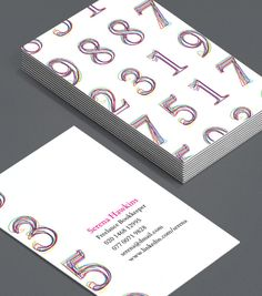 Gold abstract numbers for accountants accounting business card consultants mathematicians and number buffs will appreciate these scribbled yet perfectly ordered business cards moocards luxebymoo businesscard colourmoves
