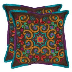 I pinned this Kaleidoscope Pillow (Set of 2) from the Perfect Pair event at Joss and Main!