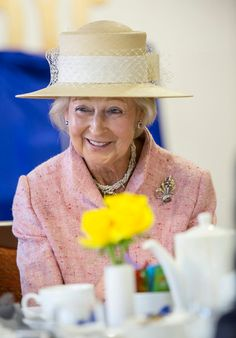 April Princess Alexandra officially opened the Lynwood Village in Sunninghill near Ascot. The Princess is President of Ben Support 4 Auto, which operates the new care centre. Duke And Duchess, Duchess Of Cambridge, Royal Uk, Princess Alexandra, Royal Jewelry, Ascot, Queen Elizabeth Ii, British Royals, Older Women