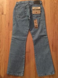23.76$  Watch here - http://vicox.justgood.pw/vig/item.php?t=nttgxh24866 - NEW Harley-Davidson McJean Bootcut II Women's Jean Size 6 Harley Jeans