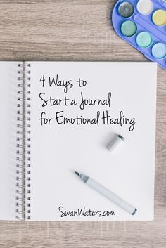 It may sound too good to be true, just journal for emotional healing. Can simply putting pen to paper really help you make sense of your story, help you recover from abuse and create healthy emotional balance that allows you not just to survive, but to th Journal Prompts, Writing Prompts, Bujo, Lettering, Self Discovery, Coping Skills, Smash Book, Journal Inspiration, Journal Ideas