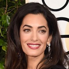 Amal Clooney makes her FIRST major red carpet appearance in @Dior: http://hbazaar.co/6018aCek #GoldenGlobes