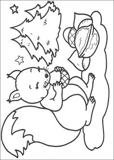 266 Christmas printable coloring pages for kids. Find on coloring-book thousands of coloring pages. Camping Coloring Pages, Animal Coloring Pages, Coloring Book Pages, Printable Coloring Pages, Coloring Pages For Kids, Colorful Pictures, Simple Pictures, Squirrel Coloring Page, Forest Animal Crafts