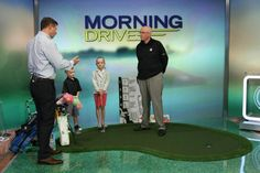 TLG's First set clubs on the Golf Channel's Morning Drive