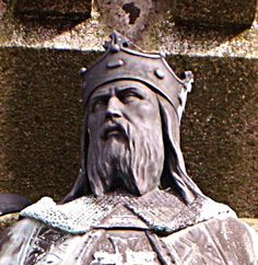 """Robert, first Duke of Normandy, and father of William the Conqueror. Robert was a direct descendant of the Viking who """"founded"""" Normandy. Interesting that Harold, the last Anglo-Saxon king, was threatened in the north by a Viking army and in the south by William the Conqueror's invasion force. So he was actually fighting to retain the throne the England against two separate Viking groups."""