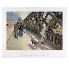 Caillebotte: The Pont de l'Europe, 11 x 14 Print | shop.nga.gov