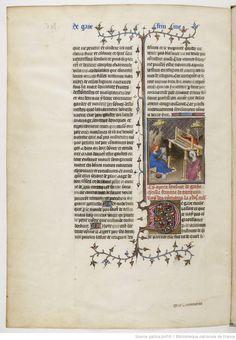 Giovanni Boccaccio, De Claris mulieribus, XVe, Tanaquil tissant, cardage, filage et tissage de la laine