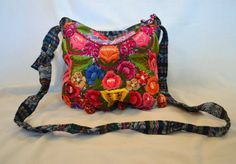 "Guatemala | Handmade Embroidered ""Totonicapan"" Purse – Purple"