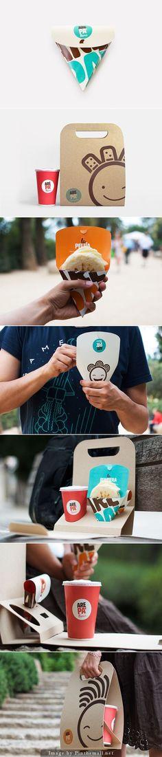 Arepa - packaging
