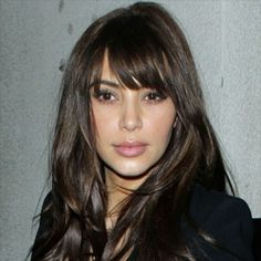 Miraculous Celebrity Bangs Fringe Hairstyles And Fringes On Pinterest Hairstyles For Women Draintrainus
