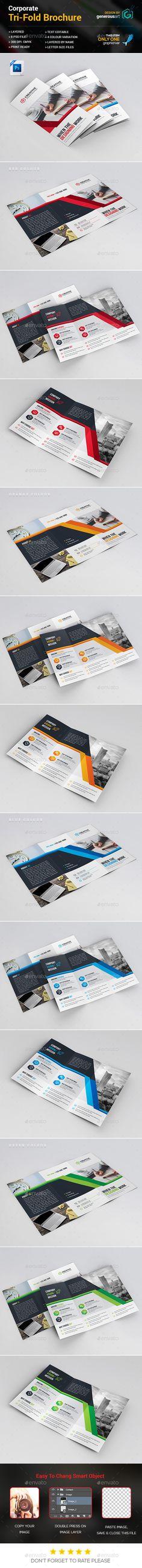 Senior Housing Tri Fold Brochure Template  TriFold Brochure
