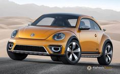 #Vw Beetle Dune Concept shown prior to 2014 #DetroitAutoShow  http://www.4wheelsnews.com/vw-beetle-dune-concept-shown-prior-to-2014-detroit-auto-show/