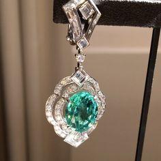 Louis Vuitton Jewellery. Via The Eye Of Jewelry (@theiofj) on Instagram: DAZZLING TOURMALINES @louisvuitton #highjewelry #earrings