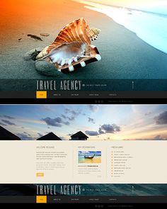 Travel Agency Website Template http://www.templatemonster.com/website-templates/41926.html?utm_source=pinterest&utm_medium=timeline&utm_campaign=trav