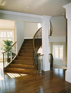 u staircase - basement stairs without door