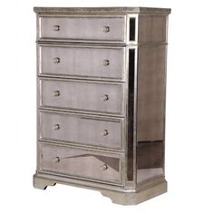 Venetian Distressed Tallboy Drawers & Cabinets Storage French Bedroom Company