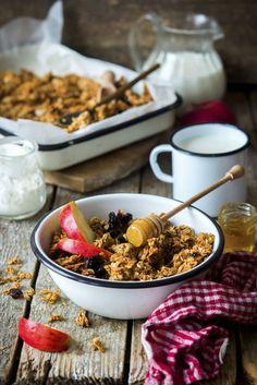 Medová granola   Recepty.sk