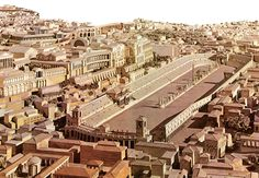 imperial palace rome reconstruction claudius