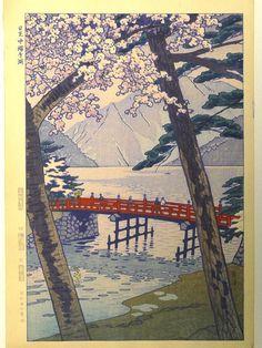 Japanese Ukiyoe Shin-hanga Woodblock print antique by UkiyoeSalon