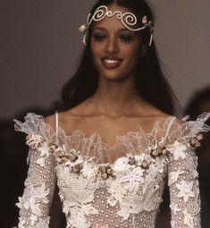90s Fashion, Runway Fashion, High Fashion, 90s Models, Runway Models, Miss Girl, Lolita Lempicka, Vintage Black Glamour, Black Girl Aesthetic