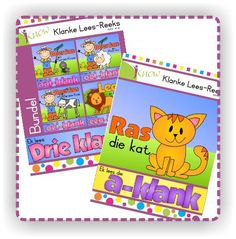 Short readers for learning to read in Afrikaans School Resources, Afrikaans, Learn To Read, Textbook, Homeschool, Education, Learning, Studying, Teaching