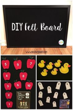 Looking for a simple DIY classroom project to help keep you Kindergarten and Preschool students engaged during story time? Come check out this easy DIY felt board and felt board story props, which are the perfect read aloud activities! Flannel Board Stories, Felt Board Stories, Felt Stories, Flannel Boards, Toddler Fun, Learning Activities, Preschool Activities, Toddler Circle Time, Time Activities