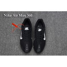 New And Cheap 2018 Nike Air Max 360 Kup Summit black white Cheap Nike Air Max, Nike Shoes Cheap, New Nike Air, Air Max 360, Shoes 2018, Men's Shoes, Style Air Max, Black Shoes, All Black Sneakers