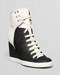 See by Chloé Sneakers - Gondola Wedge   Bloomingdale's