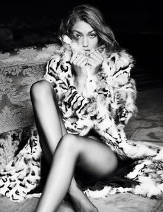 Gigi Hadid by Mario Testino for Vogue Paris November 2016