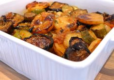 Delicious Briam recipe (Greek mixed Roasted Vegetables)-2