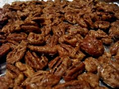 sugar free candied pecans - these were excellent and easy to make! good sugar free treat and guilt free